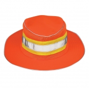 ML Kishigo 2823 Full Brim Safari Hat - Orange - Small/Medium