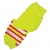 ML Kishigo 3117 Ultra-Cool Contrast Mesh Safety Pants - Yellow/Lime