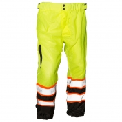 ML Kishigo 3118 Brilliant Series Mesh Safety Pants - Yellow/Lime
