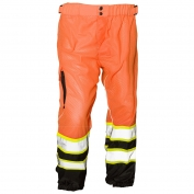 ML Kishigo 3119 Brilliant Series Mesh Safety Pants - Orange
