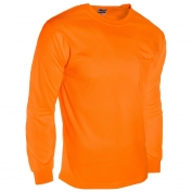 ML Kishigo 9123 Microfiber Long Sleeve T-Shirt - Orange