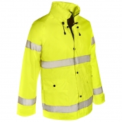 ML Kishigo 9665J Storm Stopper Rain Jacket - Yellow/Lime