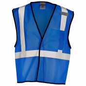ML Kishigo B121 Enhanced Visibility Mesh Vest - Royal Blue