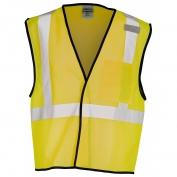ML Kishigo B125 Enhanced Visibility Mesh Vest - Yellow/Lime