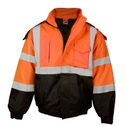 ML Kishigo JS122 Economy Bomber Jacket - Orange