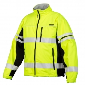 ML Kishigo JS137 Soft Shell Jacket - Yellow/Lime