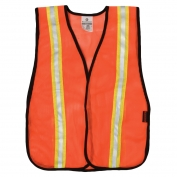 ML Kishigo P-V21 P-Series Two-Tone Mesh Safety Vest - Orange