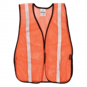 ML Kishigo P-V26 P-Series Silver Tape Mesh Safety Vest - Orange