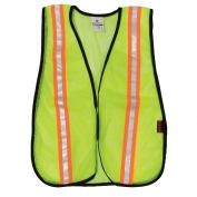 ML Kishigo PL-V22 P-Series Two-Tone Mesh Safety Vest - Yellow/Lime