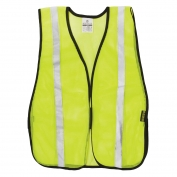 ML Kishigo PL-V26 P-Series Silver Tape Mesh Safety Vest - Yellow/Lime