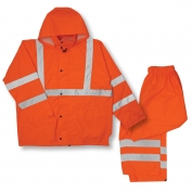 ML Kishigo RW111 Economy Rain Suit - Orange