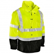 ML Kishigo RWJ100 Storm Stopper Pro Rain Jacket - Yellow/Lime