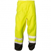 ML Kishigo RWP100 Storm Stopper Pro Rain Pants - Yellow/Lime