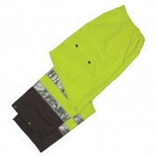 ML Kishigo RWP104 Black Series Rain Pants - Yellow/Lime
