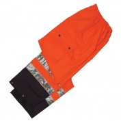 ML Kishigo RWP105 Black Series Rain Pants - Orange
