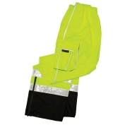 ML Kishigo RWP106 Brilliant Series Rain Pants - Yellow/Lime