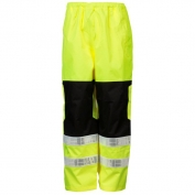 ML Kishigo RWP112 Brilliant Series Rain Pants - Yellow/Lime