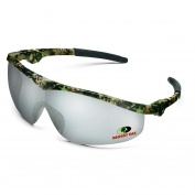 Crews MO119 Mossy Oak Storm Safety Glasses - Camo Frame - Indoor/Outdoor Mirror Lens