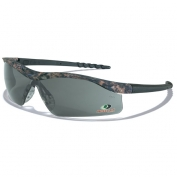 Crews Mossy Oak Dallas Safety Glasses - Camo Frame - Gray Lens