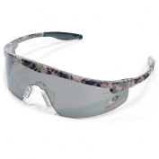 Crews Mossy Oak Triwear Safety Glasses - Camo Frame - Gray Lens