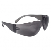 Radians MR0120ID Mirage Safety Glasses - Smoke Frame - Smoke Lens