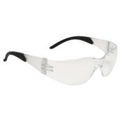 Radians Mirage RT Safety Glasses - Black Temple Tips - Clear Anti-Fog Lens
