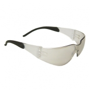 Radians Mirage RT Safety Glasses - Black Temple Tips - Indoor/Outdoor Mirror Lens