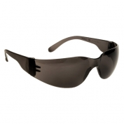 Radians MRS120ID Mirage Small Safety Glasses - Smoke Frame - Smoke Lens