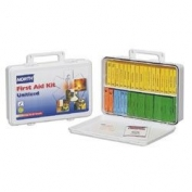 North Safety Unitized  First Aid Kit, 36 Unit, Plastic