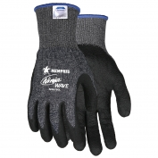 Memphis N96780 Ninja Wave Gloves - 13 Gauge Speckled Dyneema/Diamond Technolgy - Nitrile Coated