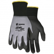 Memphis N96797 Ninja BNF Gloves - 15 Gauge Nylon/Spandex Shell - Breathable Nitrile Foam Dotted Palm