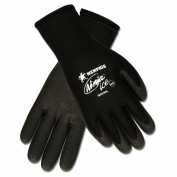 Memphis N9690 Ninja Ice HPT Foam Coated Gloves - 15 Gauge Nylon Shell - Black