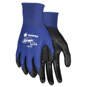 Memphis N9696 Ninja Lite PU Coated Gloves - 18 Gauge Nylon Shell  - Blue