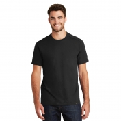 New Era NEA100 Heritage Blend Crew Tee - Black