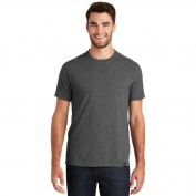 New Era NEA100 Heritage Blend Crew Tee - Black Heather