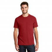 New Era NEA100 Heritage Blend Crew Tee - Crimson