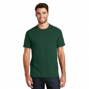 New Era NEA100 Heritage Blend Crew Tee - Dark Green