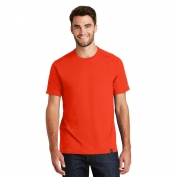 New Era NEA100 Heritage Blend Crew Tee - Deep Orange
