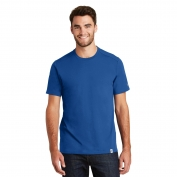 New Era NEA100 Heritage Blend Crew Tee - Royal