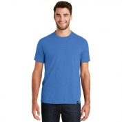 New Era NEA100 Heritage Blend Crew Tee - Royal Heather