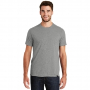 New Era NEA100 Heritage Blend Crew Tee - Shadow Grey Heather