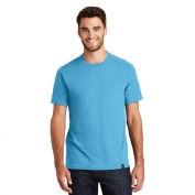New Era NEA100 Heritage Blend Crew Tee - Sky Blue