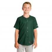 New Era YNEA220 Youth Diamond Era Full-Button Jersey