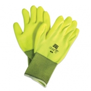 Northflex Neon Hi-Viz Foamed PVC Palm Coated Gloves
