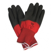 NorthFlex Red X Foamed PVC Knuckle and Palm Coated Gloves
