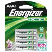 Energizer Rechargeable AAA Batteries 4-pack