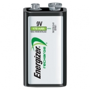 Energizer Rechargeable 9V Batteries - Single