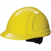 Honeywell N10R020000 North Zone Hard Hat - Ratchet Suspension - Yellow