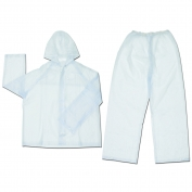 River City O722 Squall 2-Piece Suit -.20mm PVC - Clear