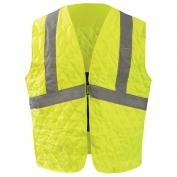OccuNomix 904 MiraCool Plus Evaporative Vest - Yellow/Lime